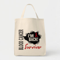 Survivor 7 Blood Cancer Tote Bag