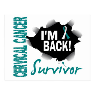Survivor 7 Cervical Cancer Postcard
