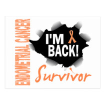 Survivor 7 Endometrial Cancer Postcard