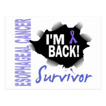 Survivor 7 Esophageal Cancer Postcard