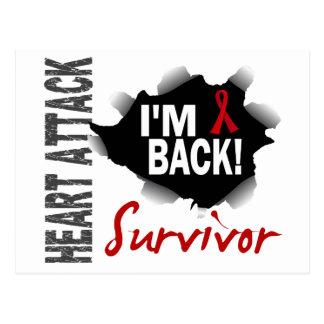Survivor 7 Heart Attack Postcards