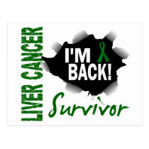 Survivor 7 Liver Cancer Postcard