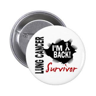 Survivor 7 Lung Cancer Pinback Button