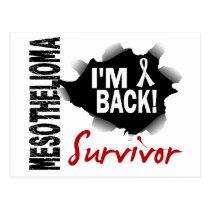 Survivor 7 Mesothelioma Postcard
