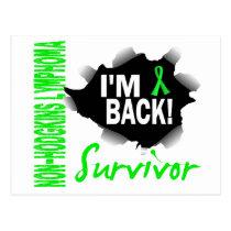 Survivor 7 Non-Hodgkin's Lymphoma Postcard