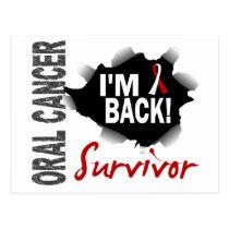 Survivor 7 Oral Cancer Postcard