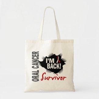 Survivor 7 Oral Cancer Tote Bag