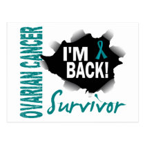 Survivor 7 Ovarian Cancer Postcard