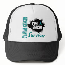 Survivor 7 Ovarian Cancer Trucker Hat