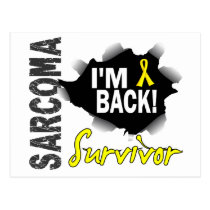 Survivor 7 Sarcoma Postcard