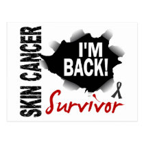 Survivor 7 Skin Cancer Postcard