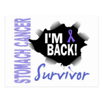 Survivor 7 Stomach Cancer Postcard