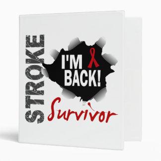 Survivor 7 Stroke 3 Ring Binder