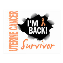 Survivor 7 Uterine Cancer Postcard