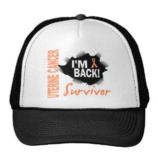 Survivor 7 Uterine Cancer Trucker Hat