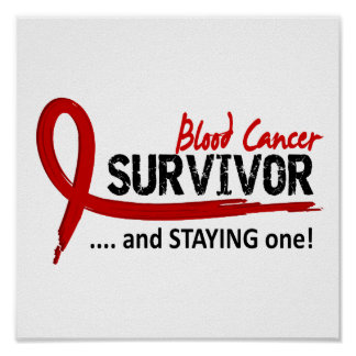 Survivor 8 Blood Cancer Poster