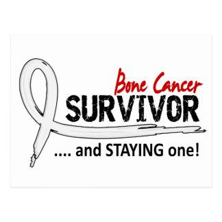 Survivor 8 Bone Cancer Postcard
