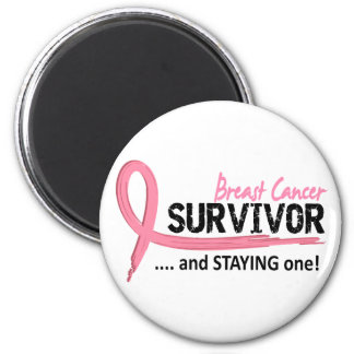 Survivor 8 Breast Cancer Refrigerator Magnet