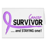Survivor 8 Cancer Greeting Card