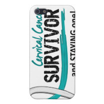Survivor 8 Cervical Cancer iPhone SE/5/5s Cover