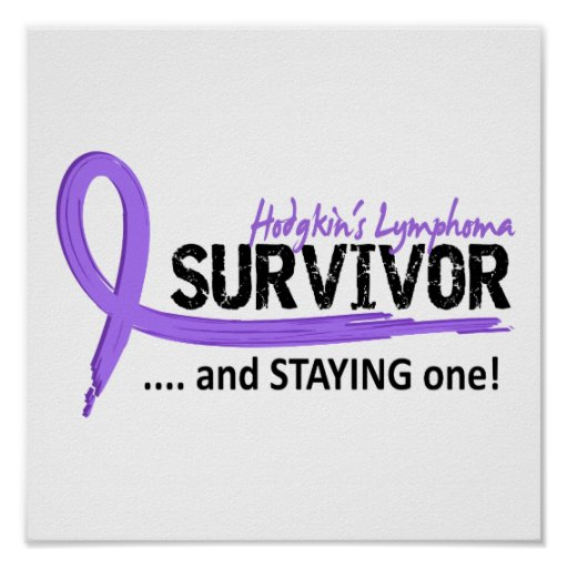 Survivor 8 Hodgkin's Lymphoma Poster