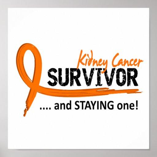 Survivor 8 Kidney Cancer Print