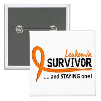 Survivor 8 Leukemia Button
