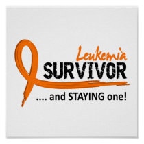 Survivor 8 Leukemia Poster