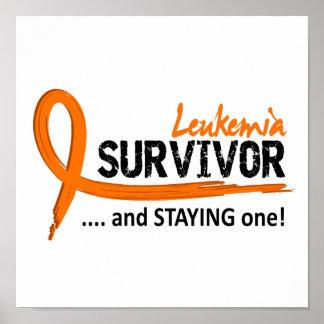 Survivor 8 Leukemia Poster