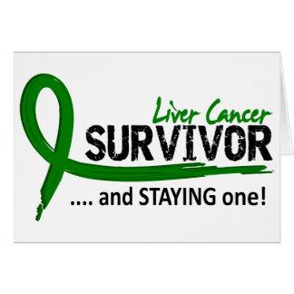 Survivor 8 Liver Cancer Card