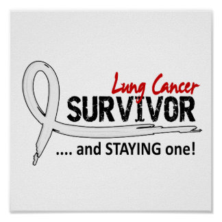 Survivor 8 Lung Cancer Posters