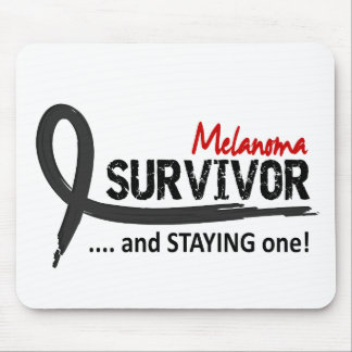 Survivor 8 Melanoma Mouse Pads
