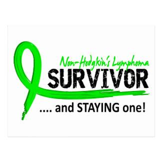 Survivor 8 Non-Hodgkin's Lymphoma Postcard