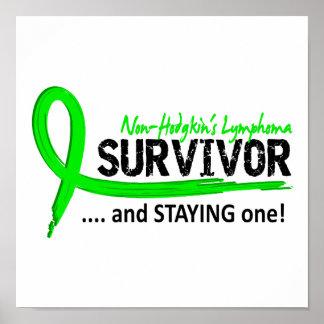 Survivor 8 Non-Hodgkin's Lymphoma Poster