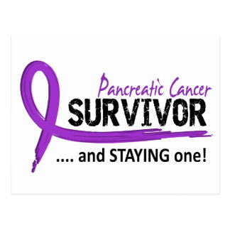 Survivor 8 Pancreatic Cancer Postcard