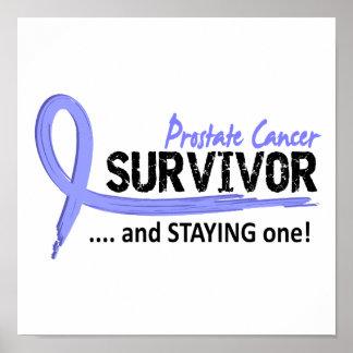 Survivor 8 Prostate Cancer Poster