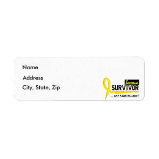 Survivor 8 Sarcoma Label