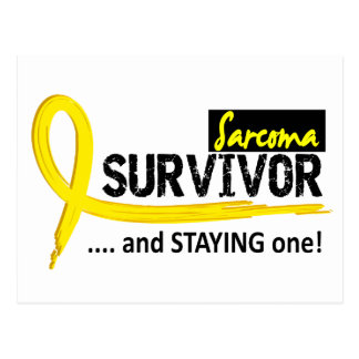 Survivor 8 Sarcoma Postcard