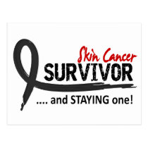 Survivor 8 Skin Cancer Postcard