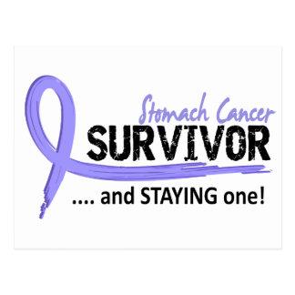 Survivor 8 Stomach Cancer Postcard