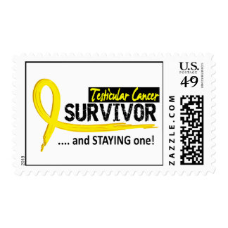 Survivor 8 Testicular Cancer Stamps