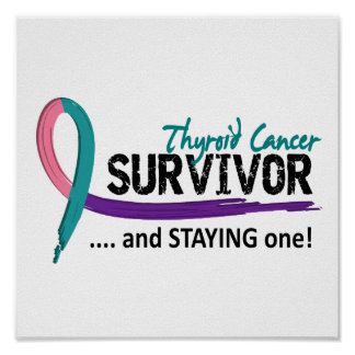 Survivor 8 Thyroid Cancer Poster