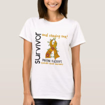 Survivor 9 Appendix Cancer T-Shirt