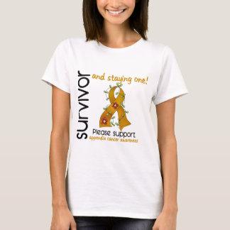 Survivor 9 Appendix Cancer T-Shirt