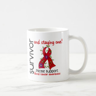 Survivor 9 Blood Cancer Classic White Coffee Mug