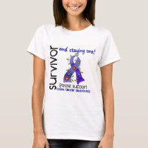 Survivor 9 Colon Cancer T-Shirt