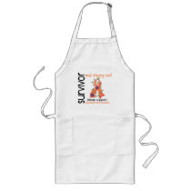 Survivor 9 Endometrial Cancer Long Apron