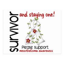 Survivor 9 Mesothelioma Postcard