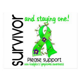 Survivor 9 Non-Hodgkin's Lymphoma Postcard