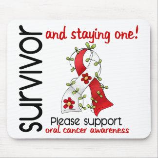 Survivor 9 Oral Cancer Mousepads